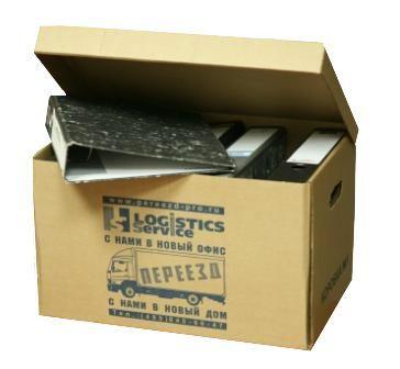 Архивные картонные коробки