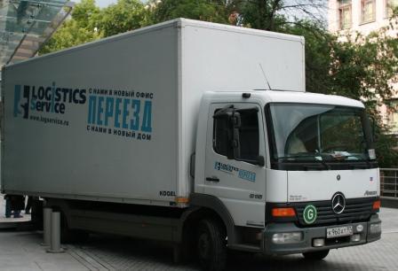 Оказание транспортных услуг Mercedes Atego